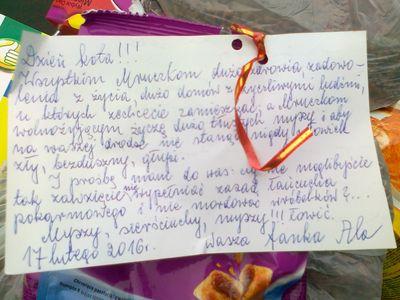 Oglądasz obrazki z tematu: Dziękujemy za udział w zbiórce w Auchan na ul. Hetmańskiej